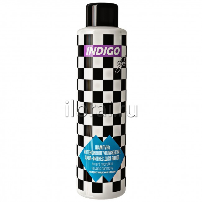 Шампунь интенсивное увлажнение аква-фитнес для волос INDIGO 1000 мл -  купить оптом в компании e1fa0dbdeaf