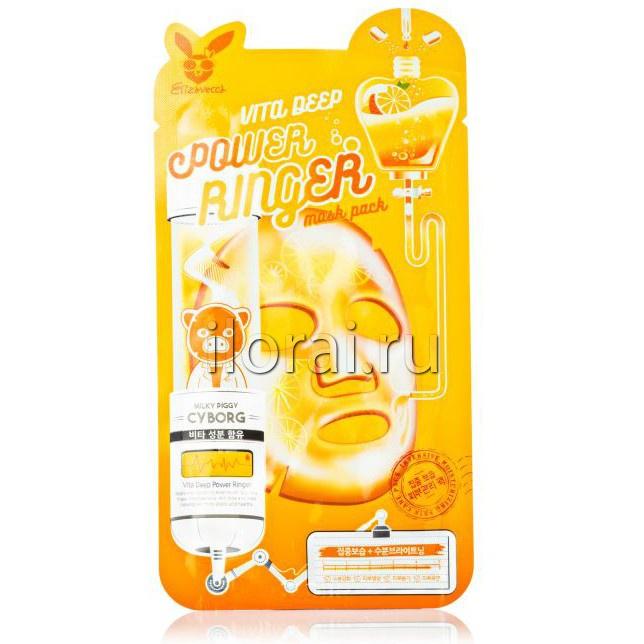 Тканевая маска для лица питательная мгновенного действия Elizavecca