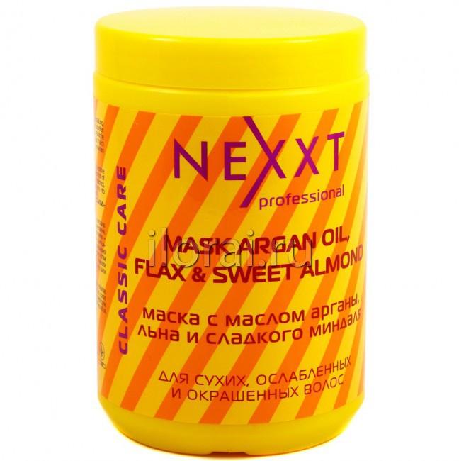 Маска для сухих, ослабленных и окрашенных волос NEXXT 1000 мл