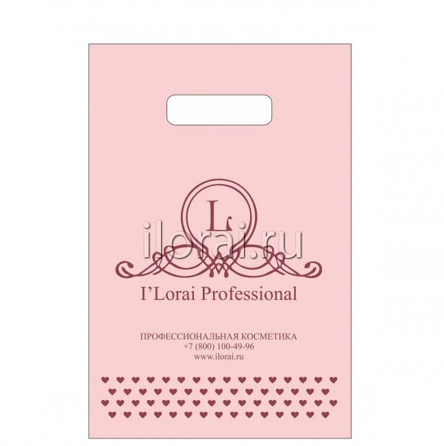 Полиэтиленовый пакет с логотипом iLorai Professional 887cf683fc0